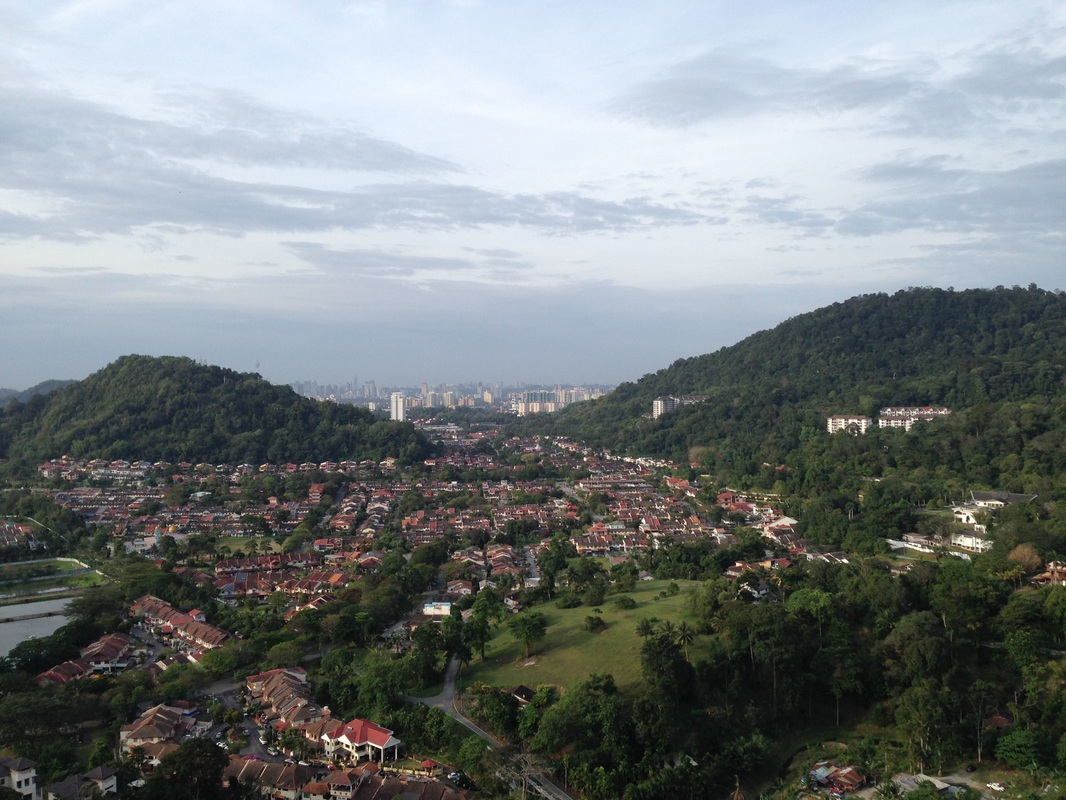 View of Taman Melawati