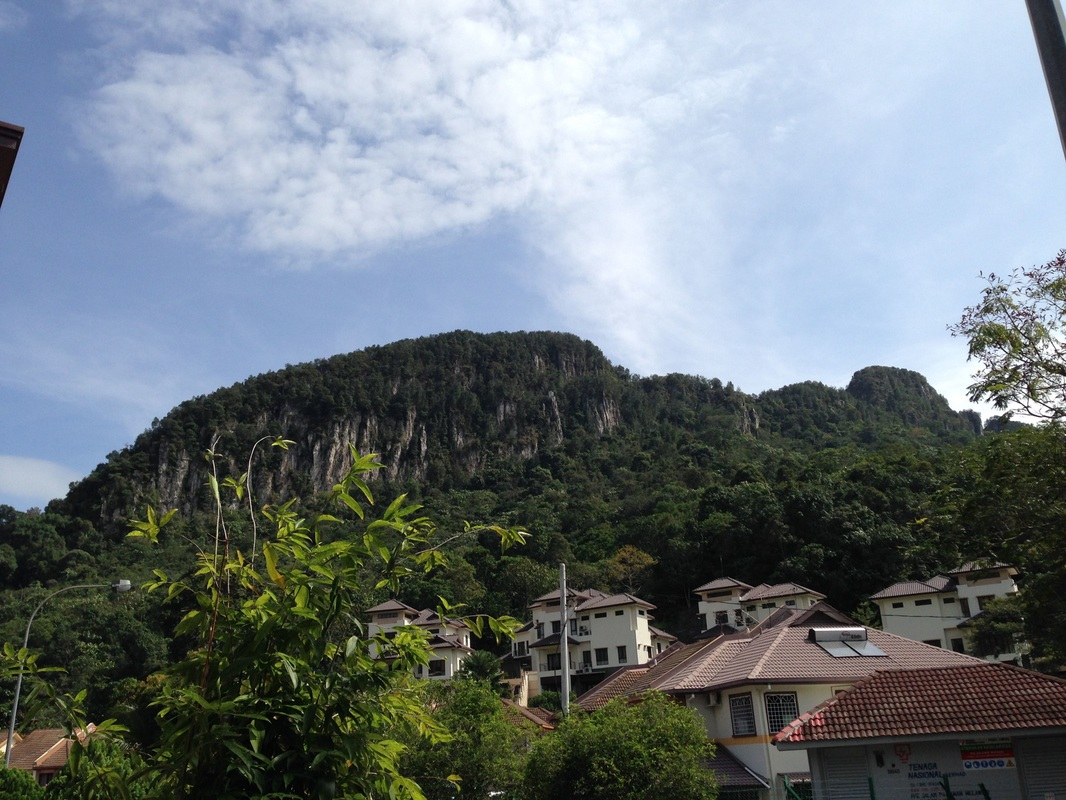 View of Tabur East from Taman Melawati
